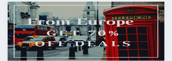 Aliexpress Coupons - From Europe Get up to 70% off deals Valid till 9/25 Coupon.